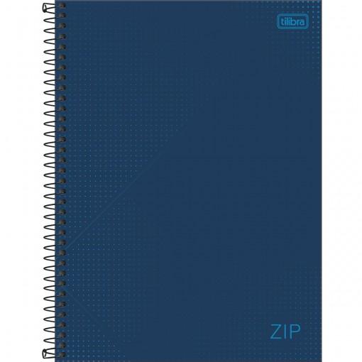Caderno Espiral Capa Dura Universitário 16 Matérias Zip 256 Folhas - Sortido