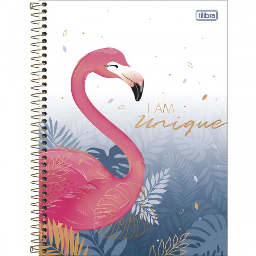Caderno Espiral Capa Dura Universitário 20 Matérias Aloha 320 Folhas - Sortido