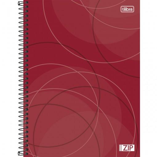 Caderno Espiral Capa Dura Universitário 20 Matérias Zip 400 Folhas - Sortido
