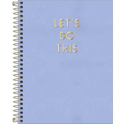Caderno Executivo Espiral Capa Dura Colegial Vanilla 80 Folhas (Pacote com 4 unidades) - Sortido