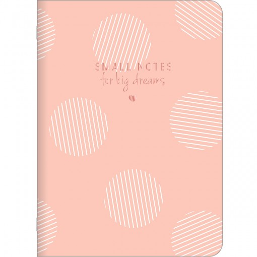 Caderno Grampeado Flexível Soho 32 Folhas (Pacote com 5 unidades) - Sortido
