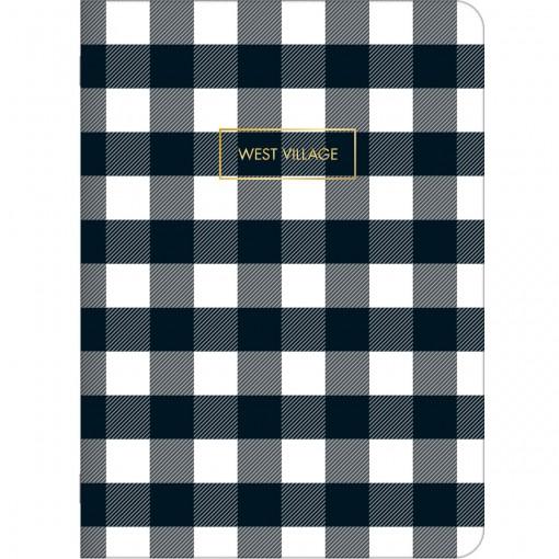 Caderno Grampeado Flexível West Village 32F (Pacote com 5 unidades) - Sortido