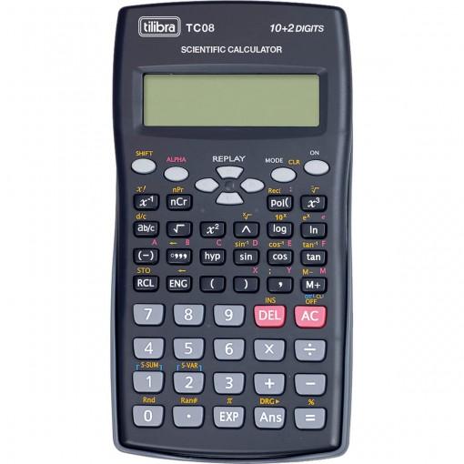 Calculadora Científica 240 Funções TC08 Preta