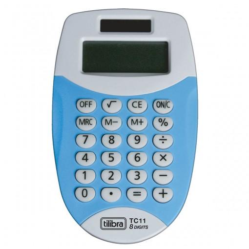Calculadora de Bolso 8 Dígitos Pequena TC11 Azul