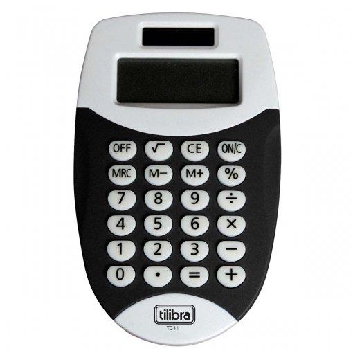 Calculadora de Bolso 8 Dígitos Pequena TC11 Preta