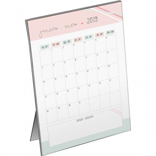 Calendário Planner de Mesa Soho 2019