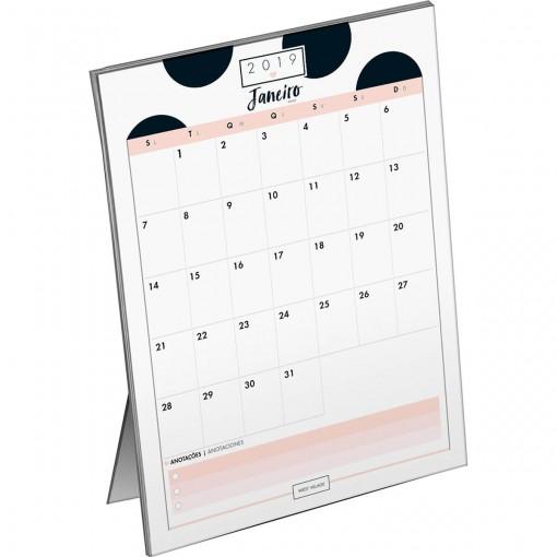 Calendário Planner de Mesa West Village 2019