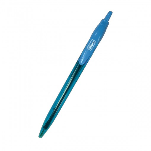 Caneta Esferográfica 1.0mm Max Neon Azul