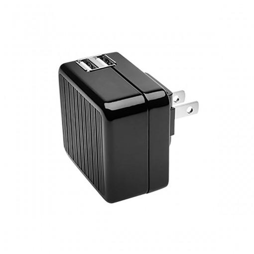 Carregador de Parede Duplo com 2 portas USB de 2.1A