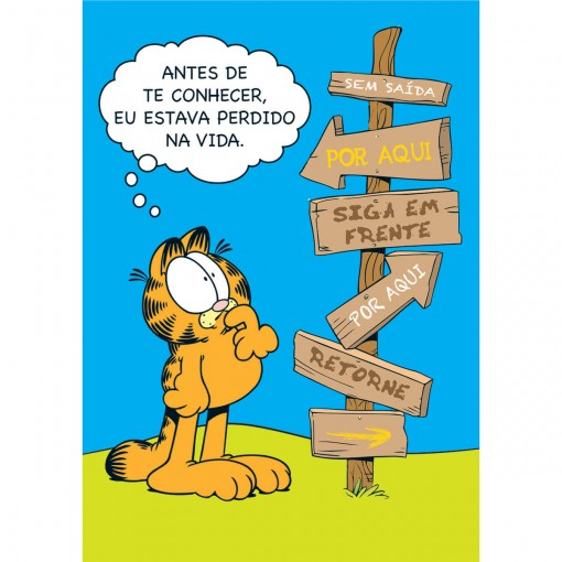 Cartão Amizade Garfield (618829)