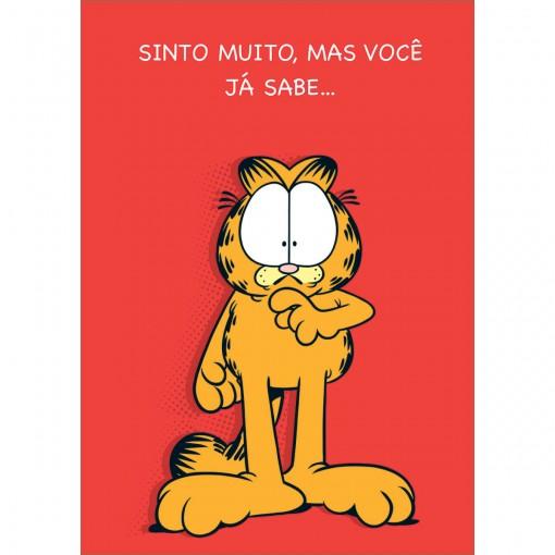 Cartão Aniversário Atrasado Garfield (618781)