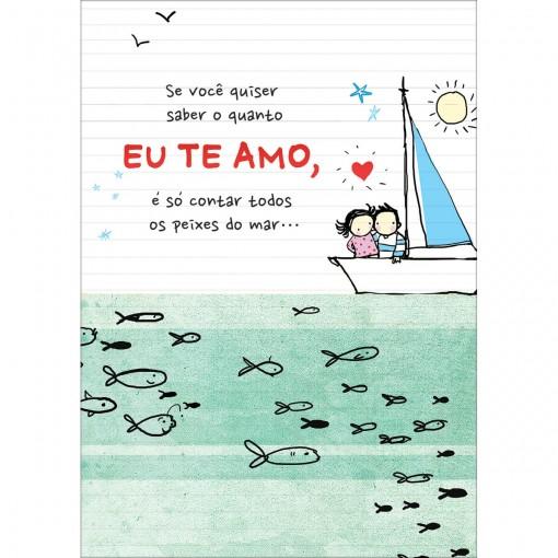 CARTÃO BY GRAFON'S AMOR ESTAMPA PEIXINHOS