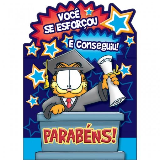 Cartão Formatura Garfield (445681)