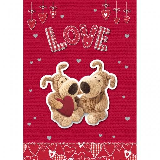 Cartão Handmade Beauty Amor Estampa Casal Urso- Grafon's