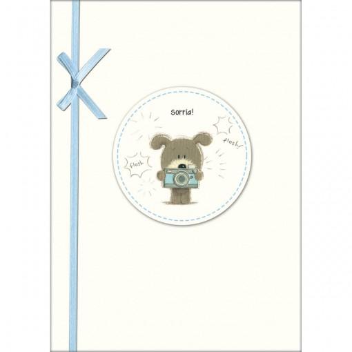 Cartão Handmade Beauty Aniversário Estampa Sorria!- Grafon's