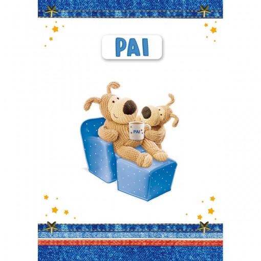 Cartão Handmade Beauty Pais Estampa Urso Pai e filho - Grafon's