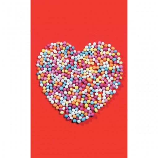 Cartão Magic Moments Amor Estampa Bolas coloridas coração - Grafon's