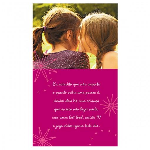 Cartão Magic Moments Aniversário Estampa Amigas - Grafon's