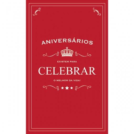 Cartão Magic Moments Aniversário Estampa Celebrar - Grafon's