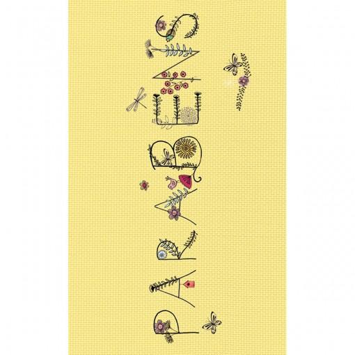 Cartão Magic Moments Aniversário Estampa Parabéns flores - Grafon's