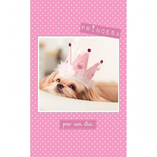 Cartão Magic Moments Aniversário Estampa Princesa - Grafon's