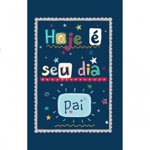 Cartão Magic Moments Pai Estampa Hoje é seu dia pai - Grafon's