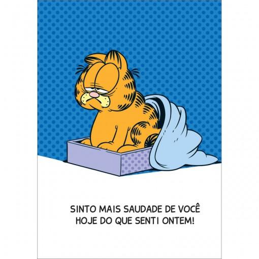 Cartão Saudade Garfield (618772)