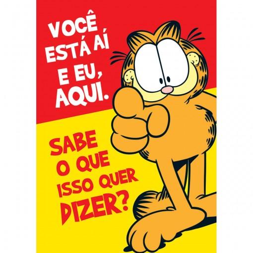 Cartão Saudade Garfield (618799)