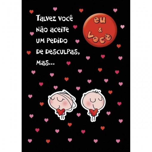 Cartão Teen Amor c/ botton (615315)