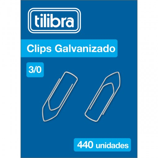 Clips 3/0 Galvanizado 440 Unidades