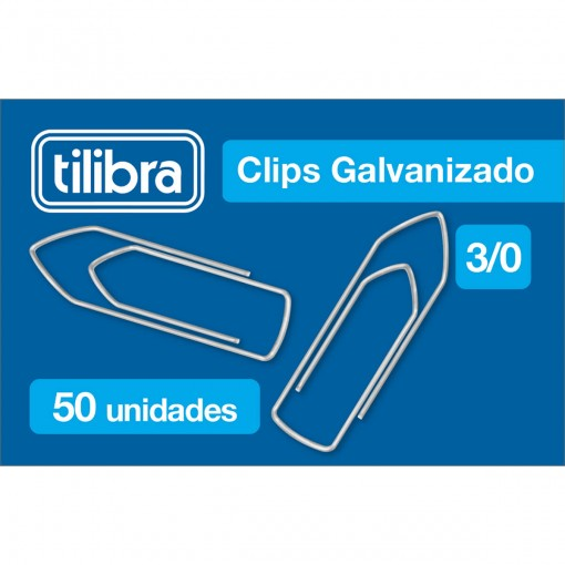 Clips 3/0 Galvanizado 50 Unidades