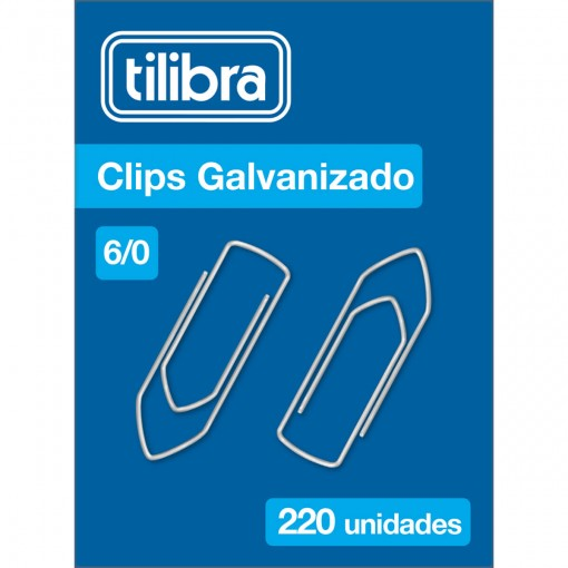 Clips 6/0 Galvanizado 220 Unidades