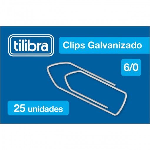 Clips 6/0 Galvanizado 25 Unidades