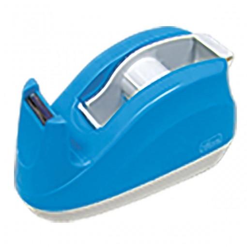 Suporte para Fita Adesiva Escritório Azul Neon
