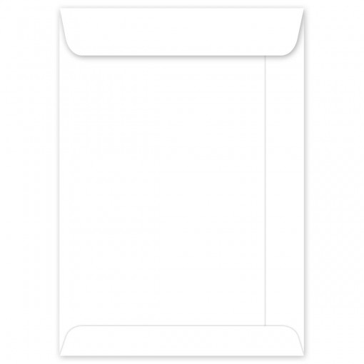 Envelope Branco OF17 110x170mm - Caixa c/ 250 Unidades
