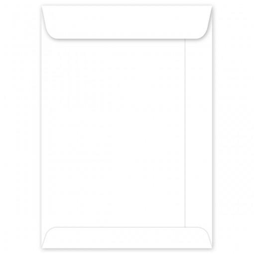 Envelope Saco Branco OF34 240x340mm - Caixa com 100 Unidades