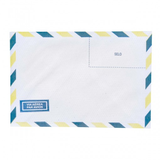 Envelope Carta Aéreo TB15 114x162mm - Caixa com 1000 Unidades