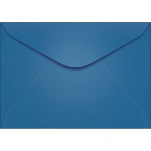 Envelope Carta TB11 Azul Royal 114x162mm - Caixa com 100 Unidades