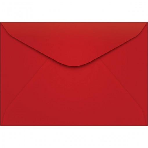 Envelope Carta TB11 Vermelho 114x162mm - Caixa com 100 Unidades