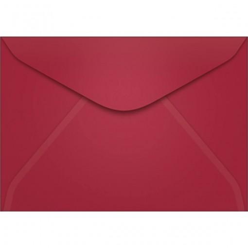 Envelope Carta TB11 Vinho 114x162mm - Caixa com 100 Unidades