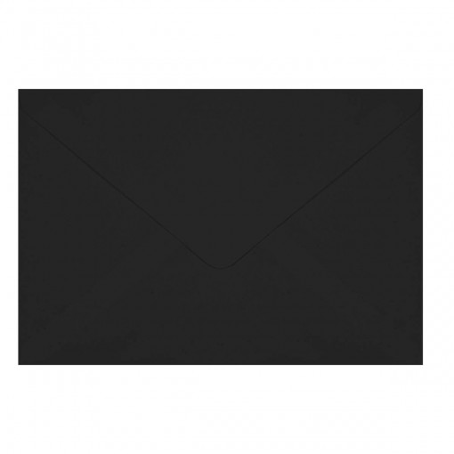 Envelope Convite TB16 Preto 160x235mm - Caixa com 100 Unidades