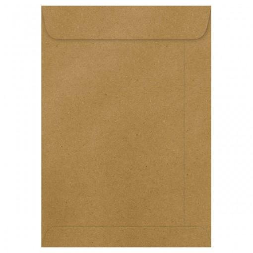 Envelope Saco Kraft Natural KN34 240x340mm - Caixa com 100 Unidades