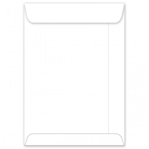 Envelope Saco Branco OF25 176x250mm - Caixa com 100 Unidades