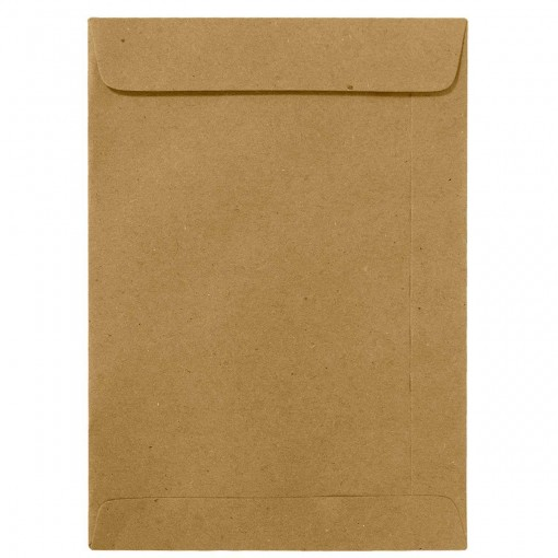 Envelope Saco Kraft Natural KN32 229x324mm - Caixa com 100 Unidades