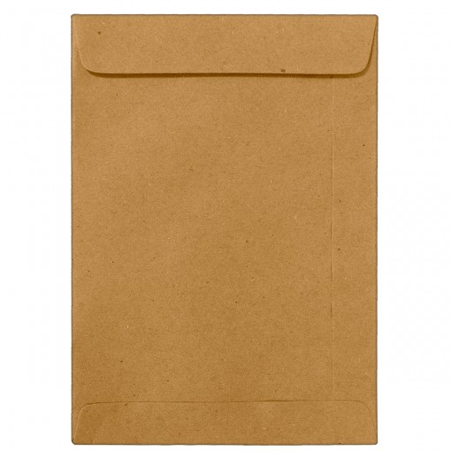 Envelope Saco Kraft Natural KN32 229x324mm - Caixa com 250 Unidades