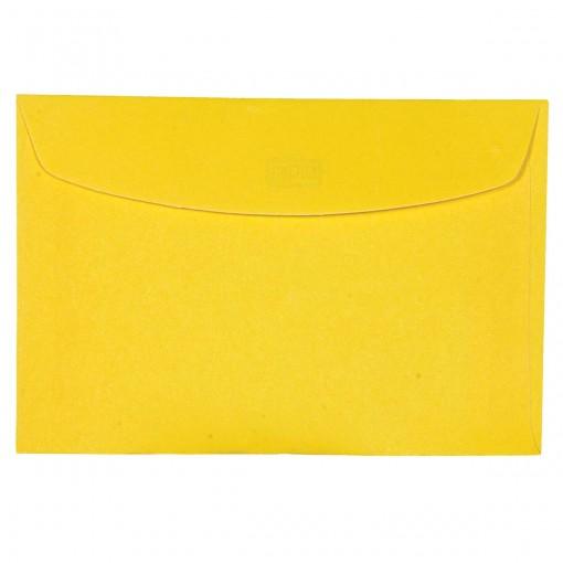 Envelope Visita TB72 Amarelo 72x108mm - Caixa c/ 100 unidades