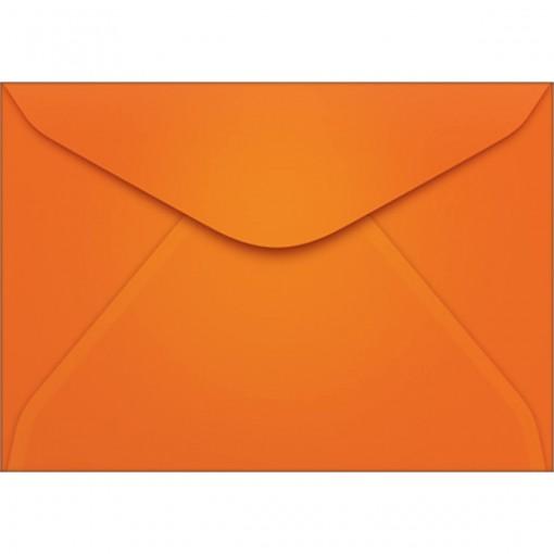 Envelope Visita TB72 Laranja 72x108mm - Caixa com 100 Unidades