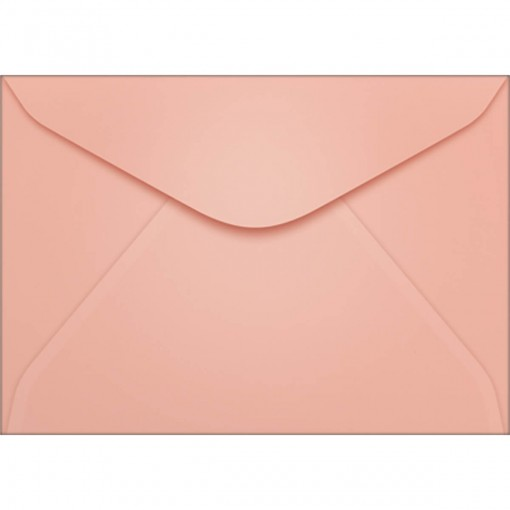 Envelope Visita TB72 Rosa 72x108mm - Caixa com 100 Unidades