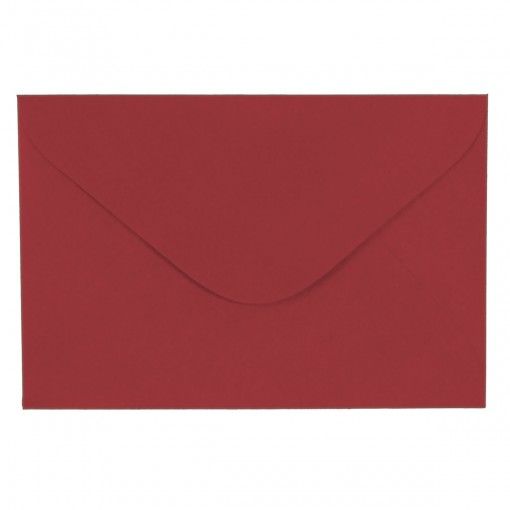 Envelope Visita TB72 Vermelho 72x108mm - Caixa com 100 Unidades