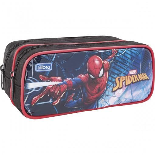 Estojo Duplo Grande Spider-Man